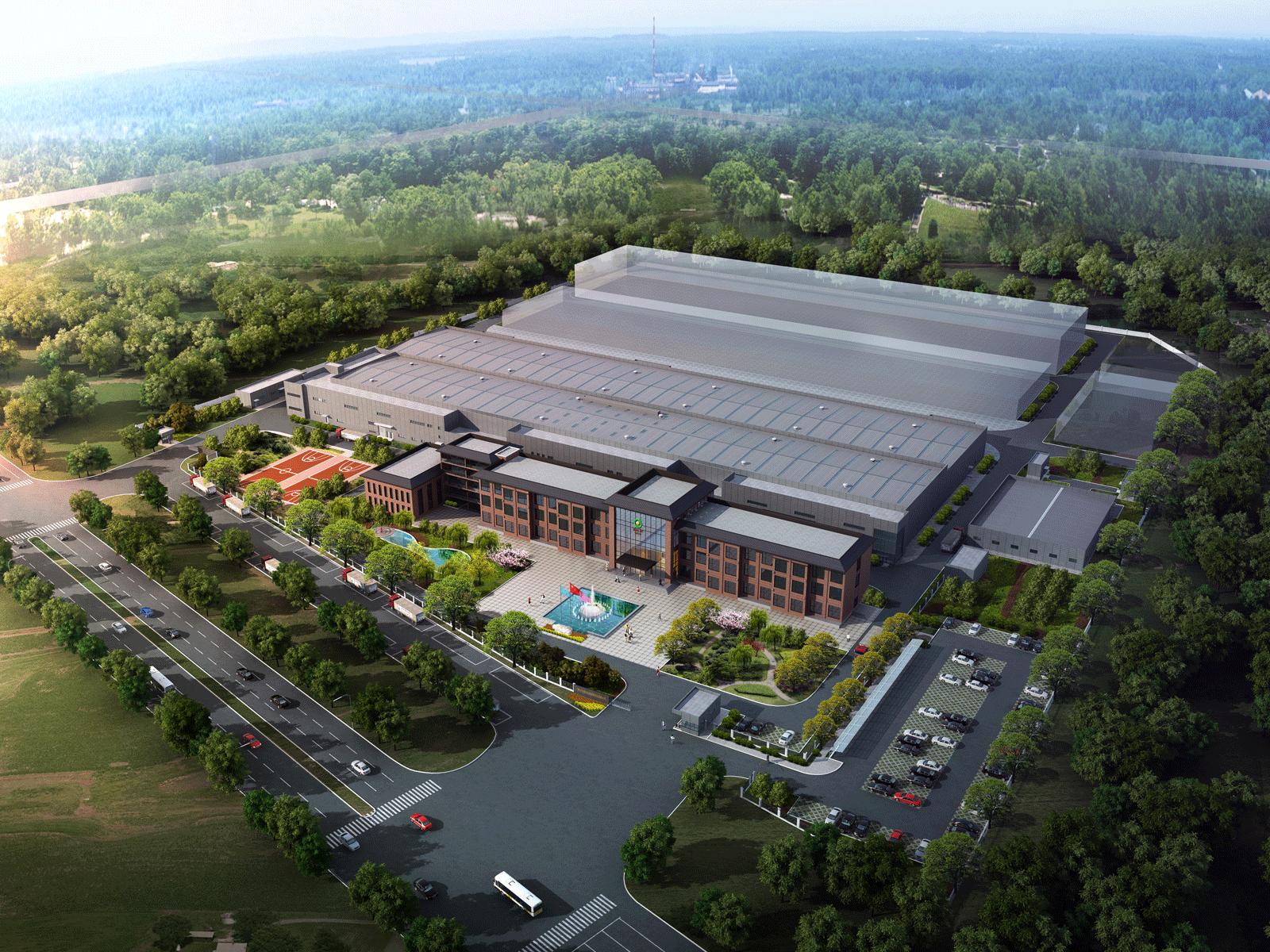 山東新巨豐泰東包裝有限公司100億包無菌包裝材料生產項目
