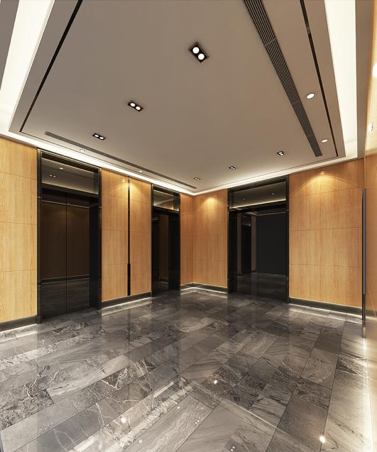 上海紡織集團門廳裝修工程(2017) 300平方米