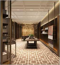 金茂君悅酒店宴會廳改造(2016) 4500平方米
