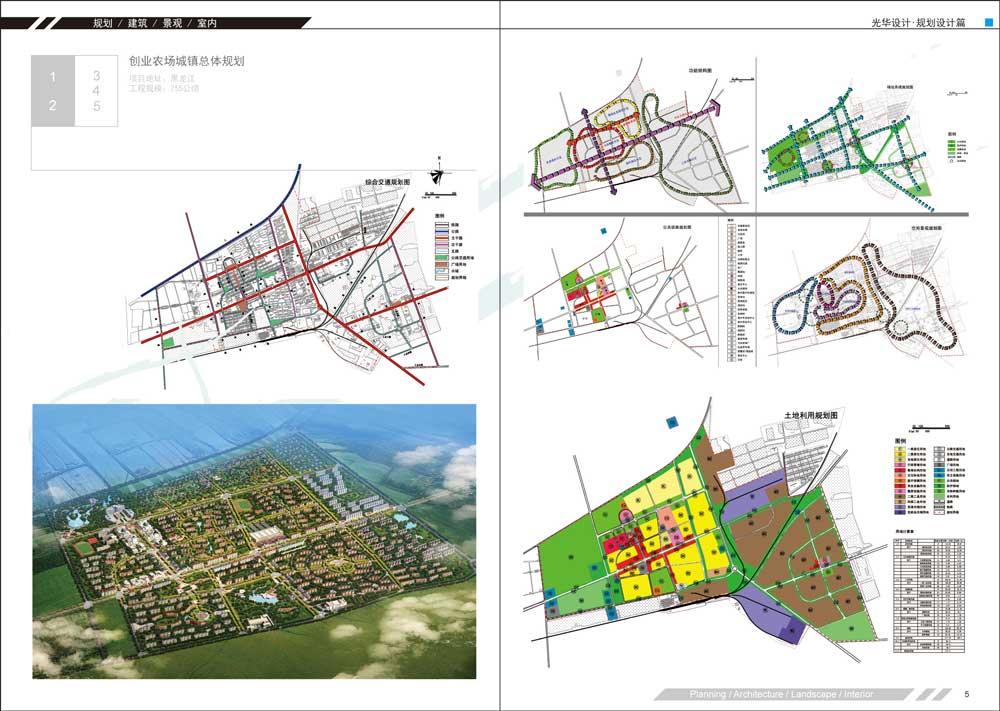 創業農場城鎮總體規劃